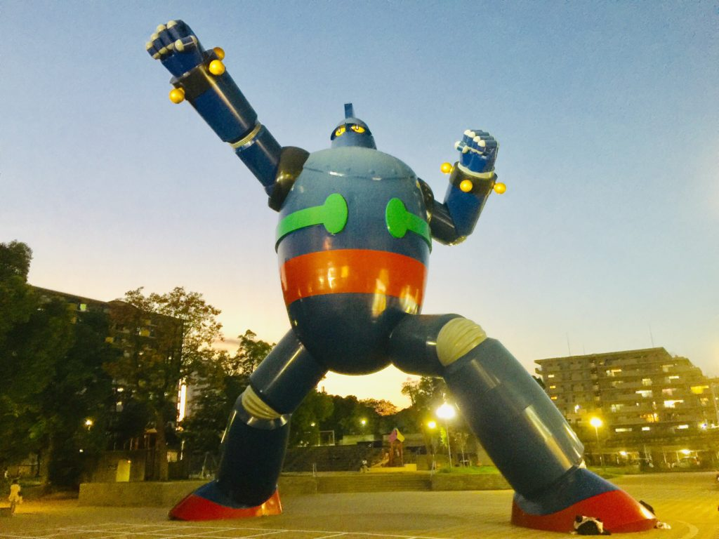 La statue de Gigantor